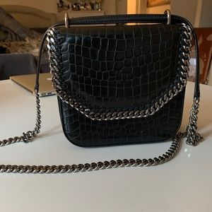 Stella McCartney Box Medium Falabella Croc